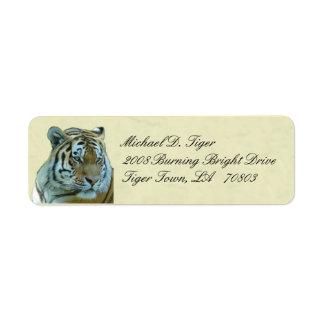 Tiger Return Labels