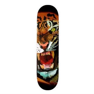 Tiger Roar Custom Skateboard
