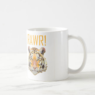 Tiger Roar Rawr Animal Cat Fun Coffee Mug