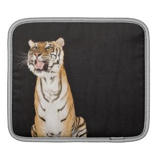 Tiger roaring iPad sleeve