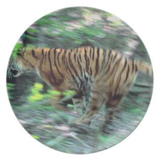 Tiger running plate