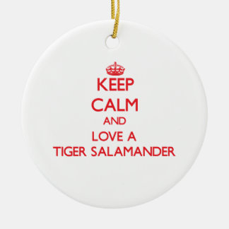 Tiger Salamander Christmas Ornament