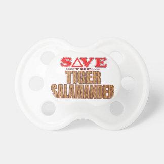 Tiger Salamander Save Baby Pacifier