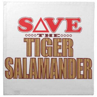 Tiger Salamander Save Napkin