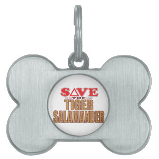 Tiger Salamander Save Pet Tag