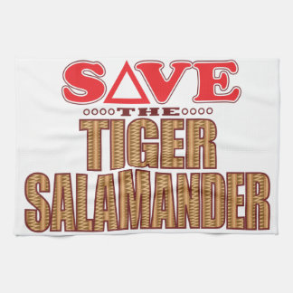Tiger Salamander Save Tea Towel