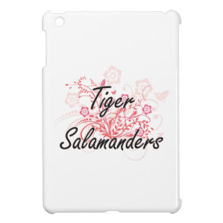 Tiger Salamanders with flowers background Cover For The iPad Mini