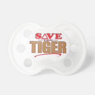 Tiger Save Baby Pacifiers