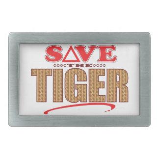 Tiger Save Belt Buckles