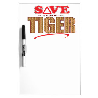 Tiger Save Dry Erase Board
