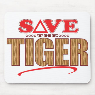 Tiger Save Mouse Pad