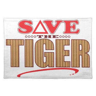 Tiger Save Placemat