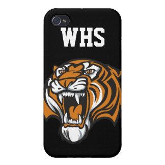 Tiger School Mascot - SRF iPhone 4/4S Covers