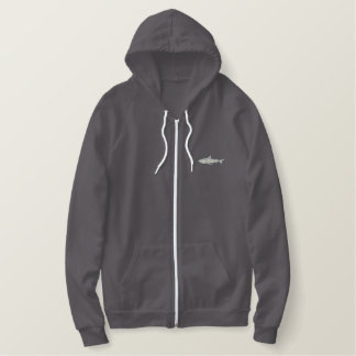 Tiger Shark Embroidered Hoodie