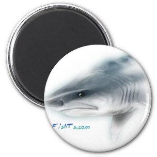 Tiger Shark Head Refrigerator Magnet
