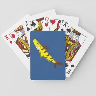 Tiger shark playing cards