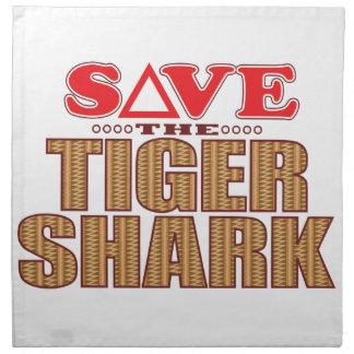 Tiger Shark Save Napkin