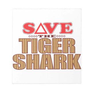 Tiger Shark Save Notepad
