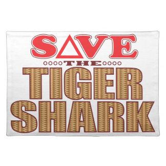 Tiger Shark Save Placemat