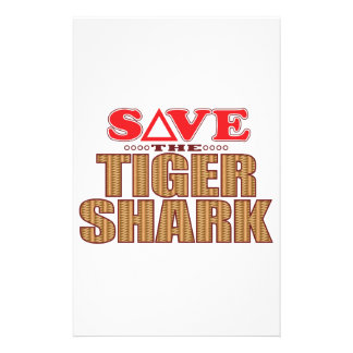 Tiger Shark Save Stationery