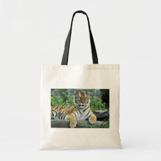 Tiger, Siberian Canvas Bags