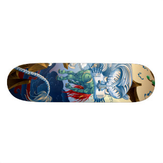 Tiger Skateboard Deck
