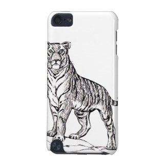 TIGER SKETCH iPod TOUCH 5G CASE