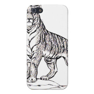 TIGER SKETCH COVERS FOR iPhone 5