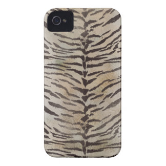 Tiger Skin in ivory iPhone 4 Case-Mate Case