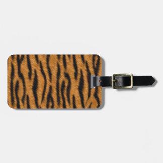 Tiger skin print design, Tiger stripes pattern Luggage Tag