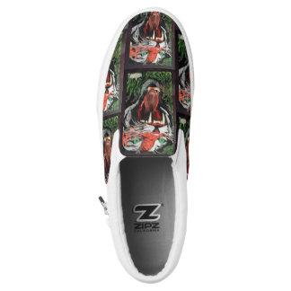 Tiger sneeker slip on shoes