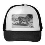 Tiger Snow Shadow B/W Ball Cap