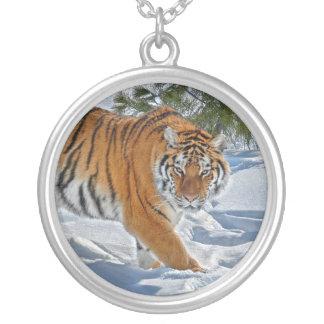 Tiger Snow Shadow Necklace