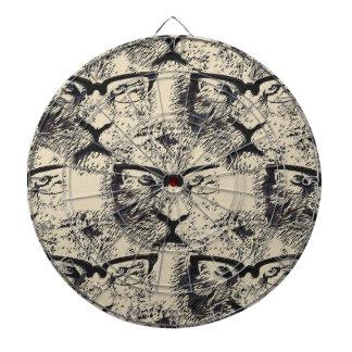 Tiger Specs Pattern Dartboard