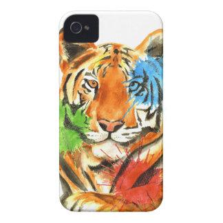 Tiger Splatter Case-Mate iPhone 4 Cases