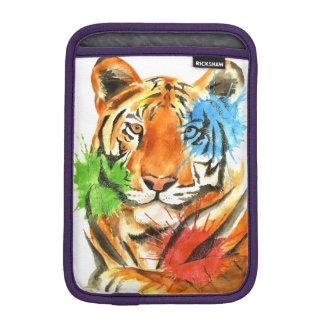 Tiger Splatter iPad Mini Sleeve