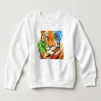 Tiger Splatter Sweatshirt