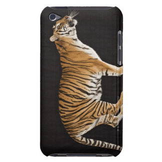 Tiger standing on platform iPod touch case