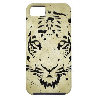 Tiger Stencil iPhone 5 Case
