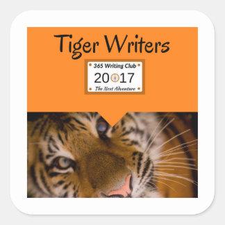 Tiger Stickers! Square Sticker