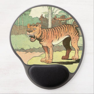 Tiger Storybook Gel Mouse Mat