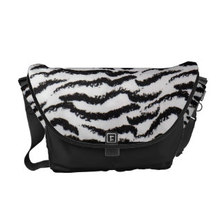 tiger stripe bag courier bag