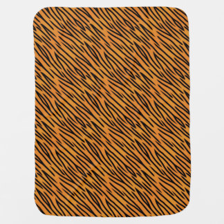 Tiger Stripe Pattern Baby Blanket