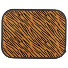 Tiger Stripe Pattern Car Mat