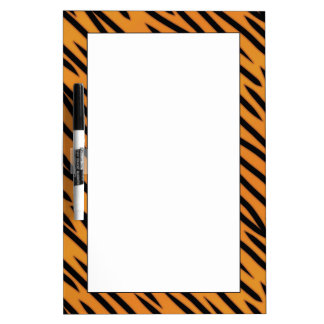 Tiger Stripe Pattern Dry Erase Board