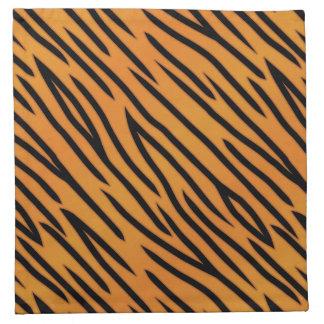 Tiger Stripe Pattern Napkin
