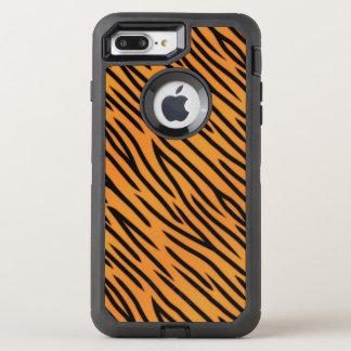 Tiger Stripe Pattern OtterBox Defender iPhone 8 Plus/7 Plus Case
