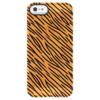 Tiger Stripe Pattern Permafrost® iPhone SE/5/5s Case