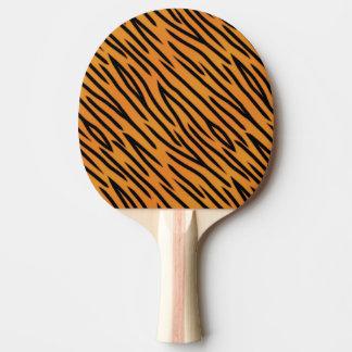 Tiger Stripe Pattern Ping Pong Paddle