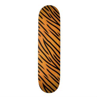 Tiger Stripe Pattern Skate Board Decks